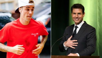 Justin Bieber, Tom Cruise