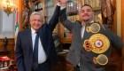 AMLO recibe a Andy 'Destroyer' Ruiz