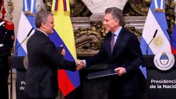 Macri le reclama a Duque por Sebastián Yatra