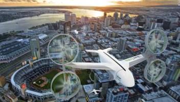 Uber Eats, drones, dron