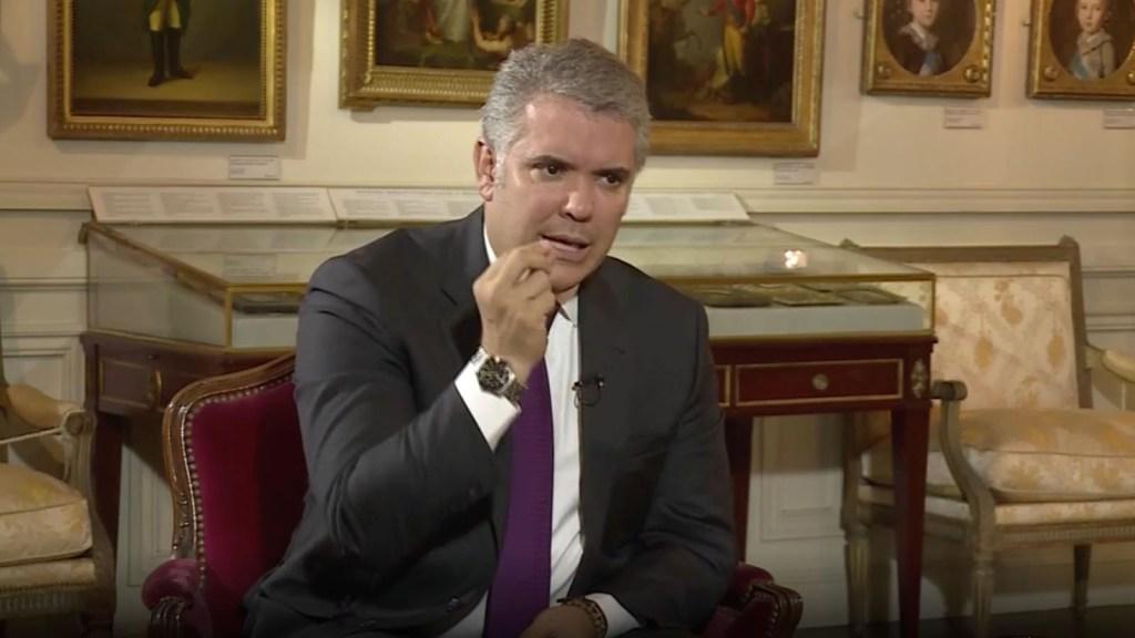 Iván Duque pide colaboración ante la situación en Venezuela