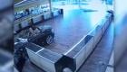 Auto de lujo atraviesa tienda en Oklahoma