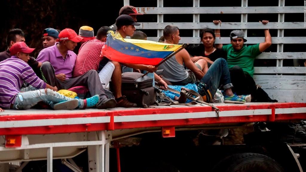 Colombia pide ayuda a Acnur por la crisis venezolana