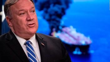 EE. UU. acusa a Irán de ataque a dos petroleros en el Estrecho de Ormuz