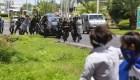 En Nicaragua se registra otro choque entre manifestantes y policías