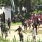 Disturbios en centro de migrantes en la frontera Guatemala-México