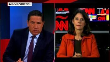 Marta Lucía Ramírez habla de los proyectos de desarrollo en el país