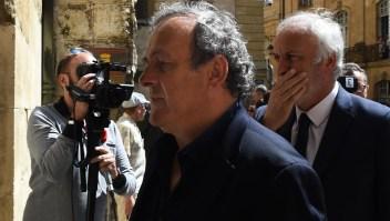 Michel Platini bajo custodia por Qatar 2022