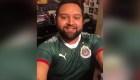 Estuvo desaparecido en México y no recuerda qué le pasó