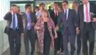 Así fue la llegada de Michelle Bachelet a Venezuela