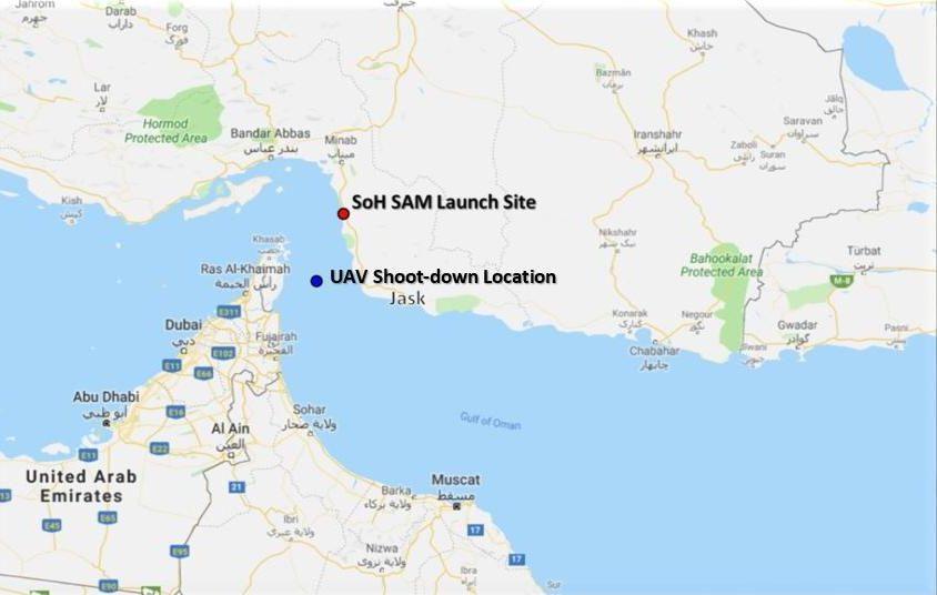 Pentágono: Irán derribó dron militar de EE.UU.