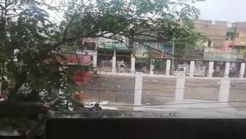 La lluvia en la ciudad india de Chennai da un respiro a la población