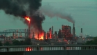 Incendio en refinería de Filadelfia