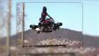 Exitosas las pruebas de moto voladora