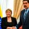 Esto dijeron Bachelet y Maduro tras visita de la alta comisionada