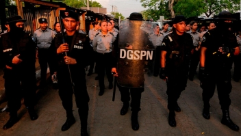 ¿Por qué hay más policías en Nicaragua?