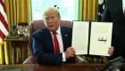 Trump impone sanciones más duras a Irán