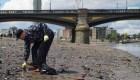 Contaminación en Londres: el río de plástico que fluye hacia el mar