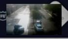 Video del choque en que murió pareja de recién casados