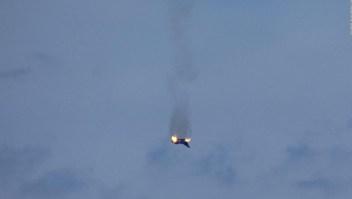 Video: piloto muere tras choque de dos cazas en Alemania
