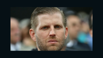 Momento desagradable para Eric Trump