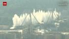 La impresionante demolición del puente Morandi tras la tragedia