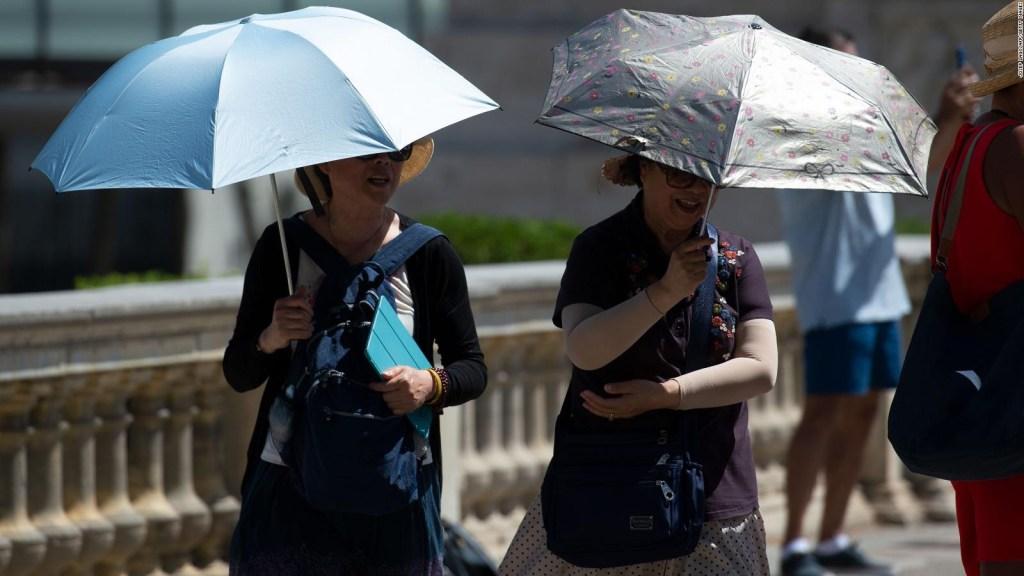Ola de calor extremo en España y Francia