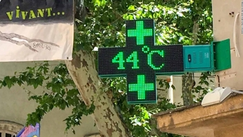 Ola calor Francia