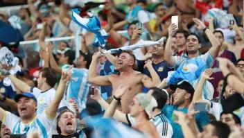 """Aficionados argentinos confían que la """"albiceleste"""" vencerá a Brasil"""