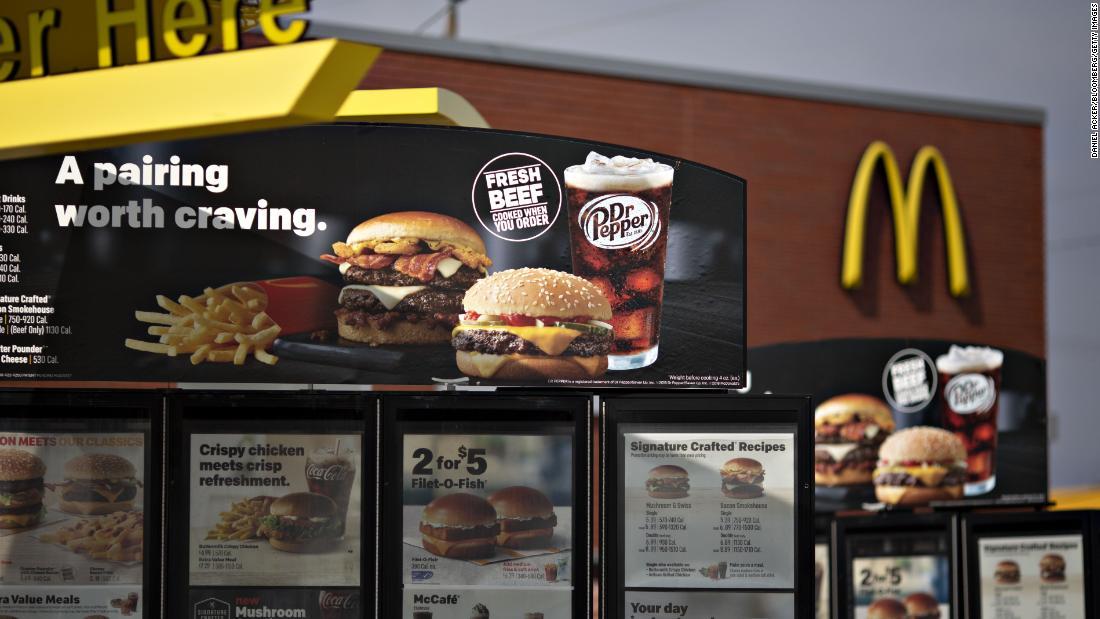 McDonald's, hamburguesa