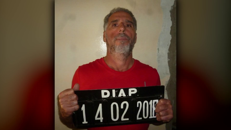 Miembro de la mafia calabresa se fugó en Uruguay. Crédito: Ministerio del Interior Uruguay.