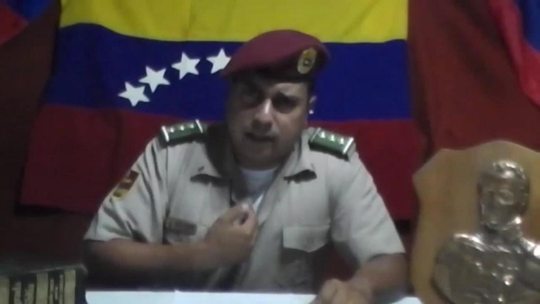 ¿Dónde se encuentra el capitán Juan Carlos Caguaripano Scott?