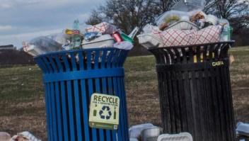 Estados Unidos es el país que más genera basura