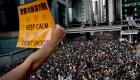 Manifestantes en Hong Kong temen por su democracia