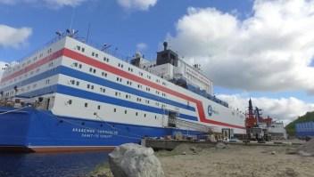 Esta es la primera barcaza nuclear del mundo