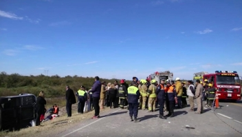 Argentina: Se vuelca un autobús y deja al menos 15 muertos