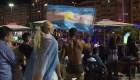 Argentinos en Brasil dicen estar contentos tras eliminación