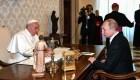 El papa Francisco y Putin se reúnen