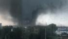 Un tornado mortal azota a China