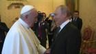 ¿De qué hablaron Putin y el papa Francisco?
