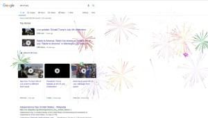 El divertido festejo de Google por el 4 de julio