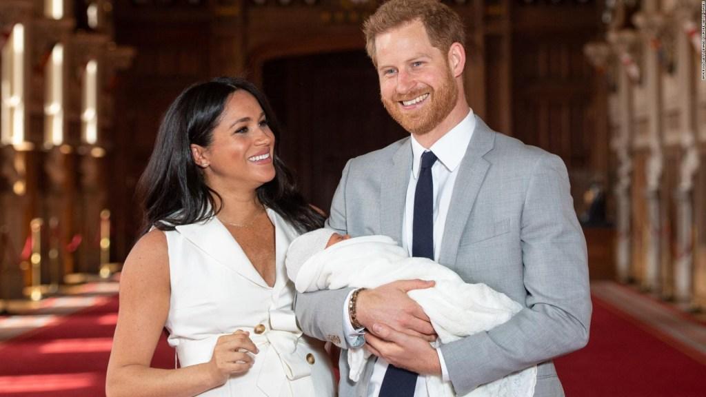 Bautizan al hijo del príncipe Enrique y Meghan, duquesa de Sussex