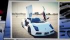 Este argentino ensambló su propio Lamborghini