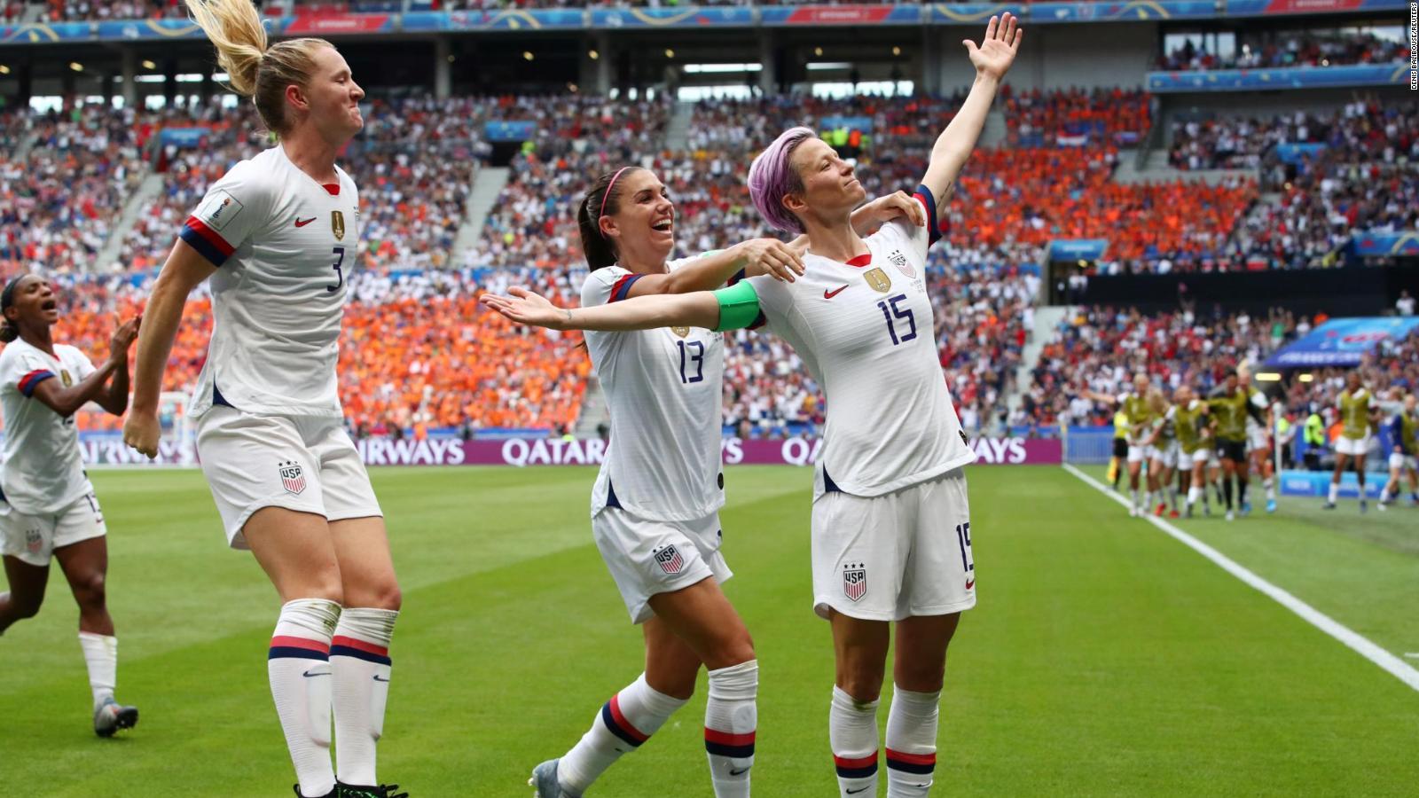 EE.UU. gana la Copa Mundial Femenina, ¿se acortará la brecha salarial?