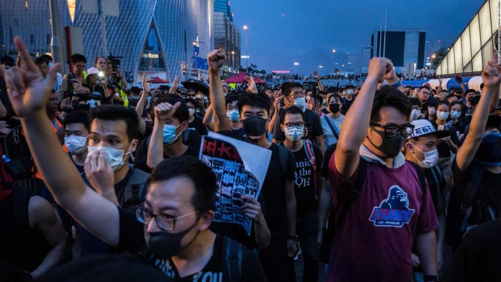 No ceden protestas contra propuesta de extradición en Hong Kong
