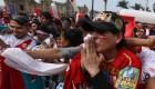 Perdió Perú, pero su pueblo igual sonrió