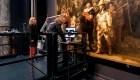 Restauración de obra de Rembrandt podrá verse en vivo