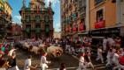 Heridos tras segundo encierro del festival San Fermín