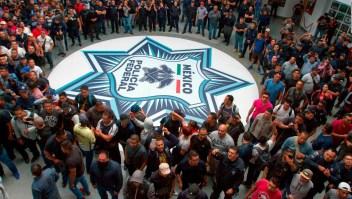 Impase entre la policía y el ejecutivo en México