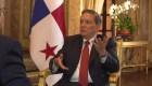 El regalo de un campesino al presidente de Panamá